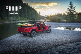 Gladiator al Camp Jeep 2019, anteprima europea