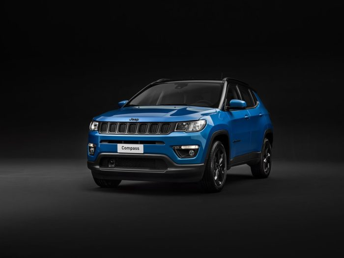 Gamma Jeep Night Eagle per Renegade, Compass e Cherokee