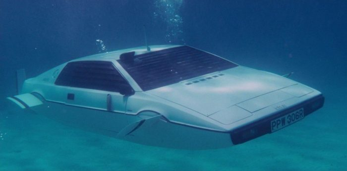 La Lotus anfibia di James Bond