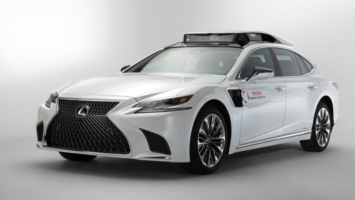 Automated Driving Lexus LS Prototype