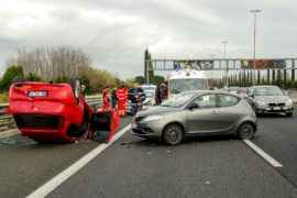 Incidenti in autostrada - Calano gli incidenti