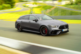 Mercedes AMG CLA 45 Shooting Brake