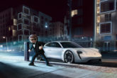 Porsche Mission E star in Playmobil, the movie 2
