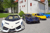 Supercar all'asta in Svizzera - sequestrate al vice presidente della Guinea Equatoriale