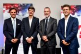 Giacomo Carelli, Chief Executive Officer&General Manager FCA Bank Group, Marco Sesana, Country Manager&Ceo di Generali Italia e Global Business Lines, Pietro Gorlier, Chief Operating Officer FCA Emea&Global Head of Mopar, Francesco Bardelli, Ceo Generali