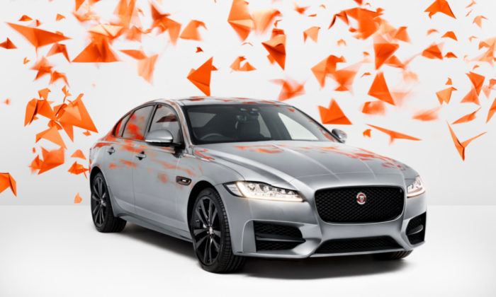 2-Rooms by Rankin - Jaguar XF - Flying High
