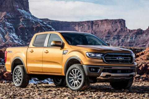 Ford Ranger 2019 - Recall in Nord America 1