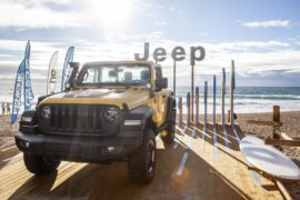 Jeep e Mopar alle tappe europee della World Surf League 1