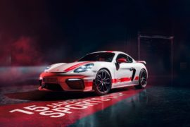 Porsche 718 Cayman GT4 Sports Cup Edition 4