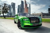 Rolls-Royce Wraith Black & Bright, dalla Russia con splendore