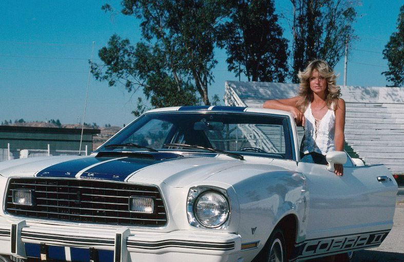 Ford Mustang Cobra II delle Charlie's Angels