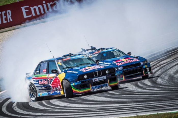 I Drift Brothers durante il FIA Formula One World Championship 2019 a Spielberg, Austria - ph. credits Red Bull Content Pool