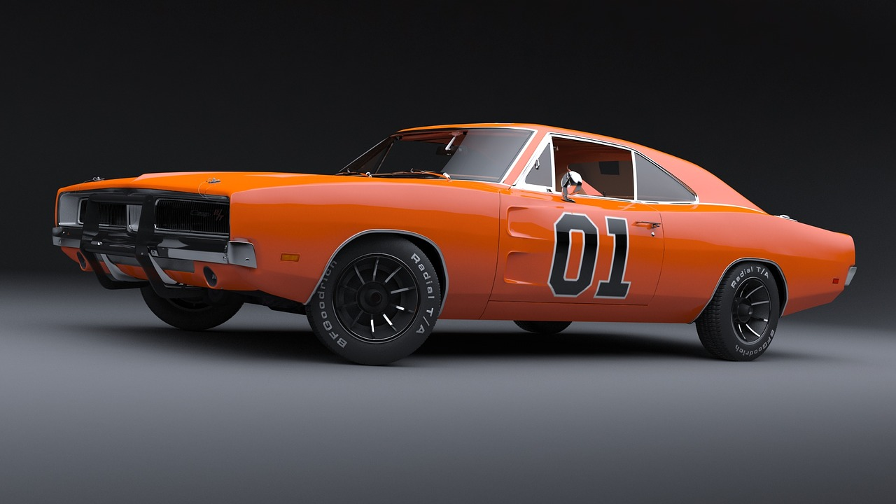Il Generale Lee - la Dodge Charger RT modello '69 di Hazzard