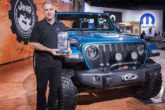 Jeep Wrangler è 4x4 of the Year al SEMA per il 10° anno consecutivo
