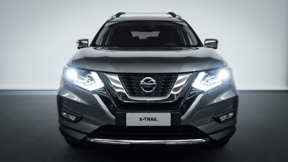 Nissan X-Trail con kit Salomon 1