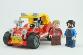 Bud Spencer e Terence Hill con la Dune Buggy di Lego Ideas 3