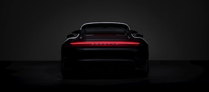 Porsche 911 Turbo S al GIMS, teaser video e foto ufficiali