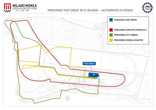 Milano Monza Motor Show, i test drive