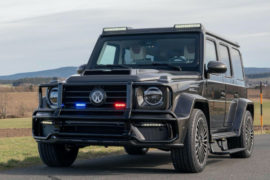 Mercedes-AMG G63 Armored Mansory 3