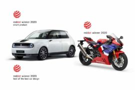 Tris per Honda ai Red Dot Design Awards, Best of the Best per Honda e 20