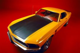1969 Ford Mustang Boss 302-2