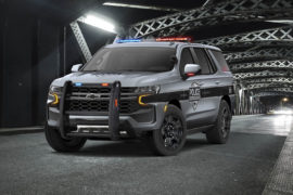 Chevrolet Tahoe Police Pursuit Vehicle