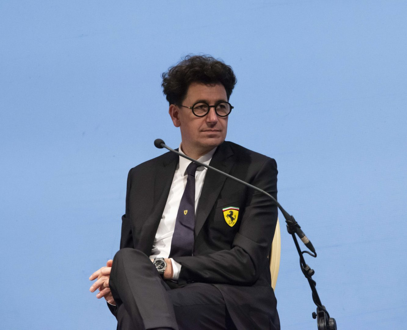 Mattia Binotto, Managing Director and Team Principal Scuderia Ferrari