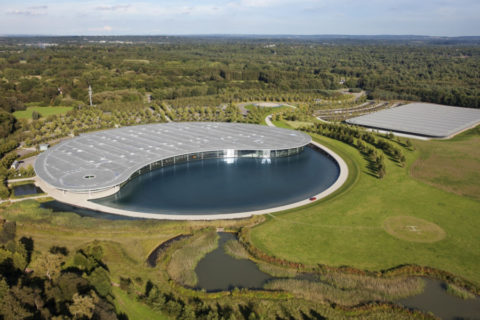 McLaren Technology Center - Woking - McLaren in crisi a causa del Covid-19