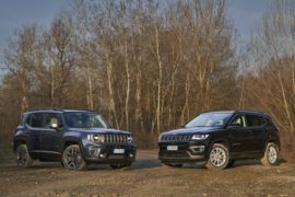 Jeep Renegade 4xe e Compass 4xe