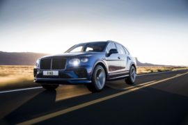 Bentley Bentayga Speed,