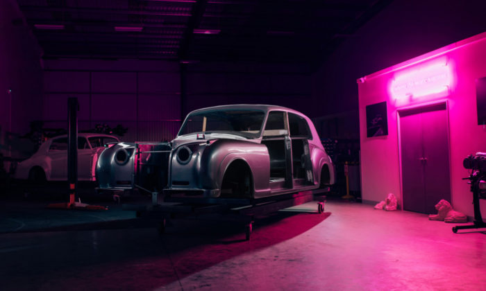 Rolls-Royce Phantom V 1961 elettrica by Lunaz Design 7