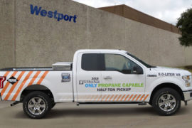 Westport CNG pick up