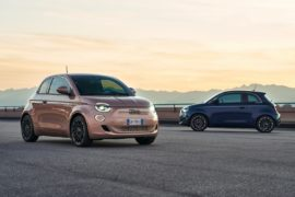 Fiat Nuova 500 full electric