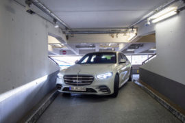 L'Automated Valet Parking di Mercedes e Bosch all'aeroporto di Stoccarda 3