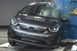 Honda Jazz crash test