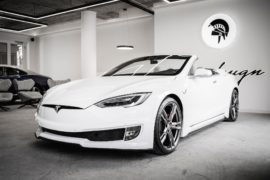 Ares Design Tesla Model S cabriolet