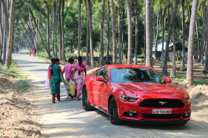 Ford Mustang in India