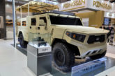 Kia Light Tactical Cargo Truck 1