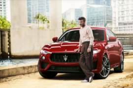 David Beckham è global ambassador di Maserati