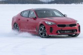 Kia Stinger Winter Test Drive
