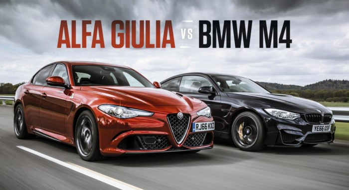 Alfa Giulia Quadrifoglio vs Bmw M4 Competition