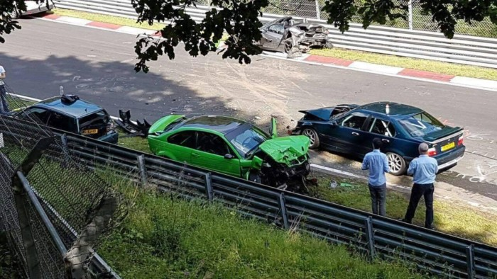 Incidente al Nurburgring