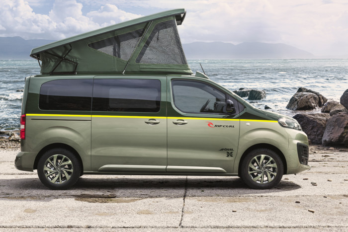 citroen e rip curl la space tourer diventa un camper qn motori. Black Bedroom Furniture Sets. Home Design Ideas