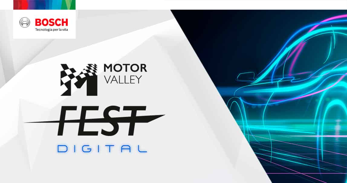Motor Valley Fest Digital, Bosch si racconta in diretta streaming ...