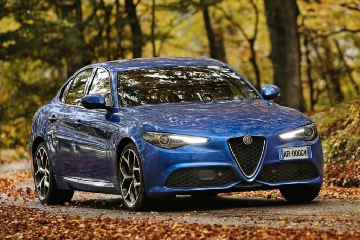 Alfa Romeo Giulia Veloce, trazione integrale, diesel da 210 cv, benzina da 280 cv