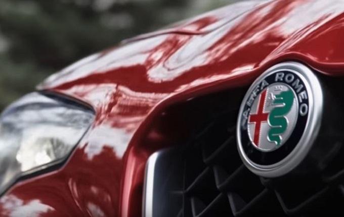 Alfa Romeo Giulia al Superbowl