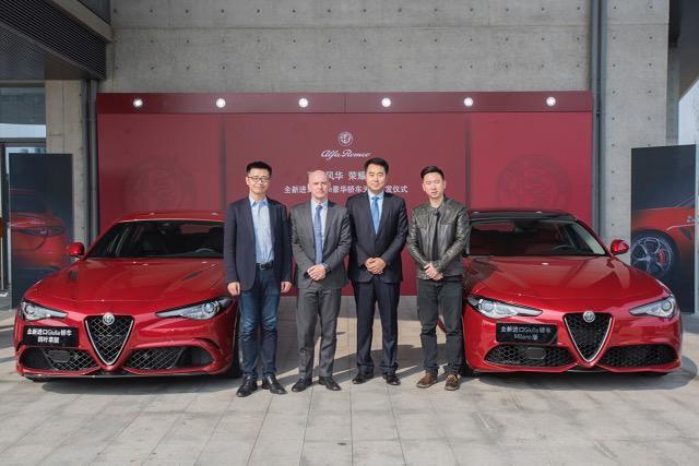 Alfa Romeo Giulia boom in Cina
