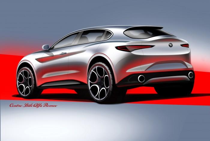 Alfa Romeo Giulietta Crossover. Potrebbe ispirarsi a questi sketches della Stelvio