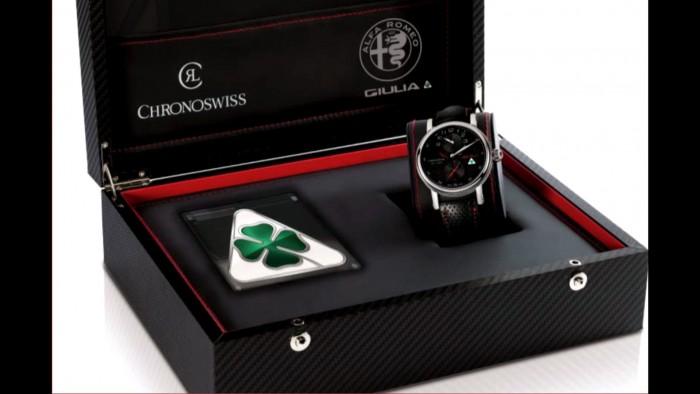 Alfa Romeo Quadrifoglio Chronoswiss