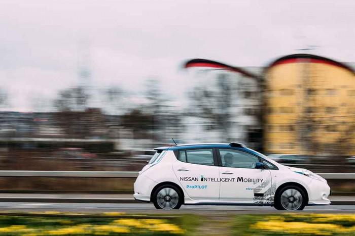 Guida autonoma Nissan, primi test su strada in Europa